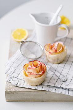 Muttertags-Rezept: Süße Apfelrosen aus Blätterteig #apfelrosenblätterteig