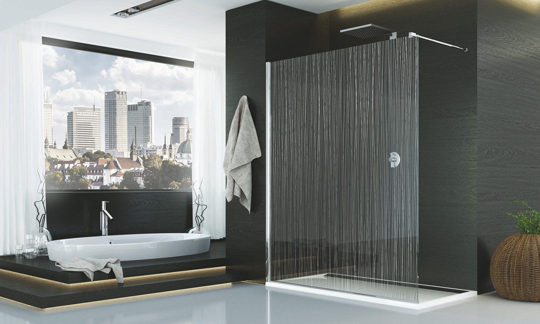 D couvrez fil d 39 eau la colonne de douche tr s design de sanswiss deco design douche des - Paroi de douche sanswiss ...