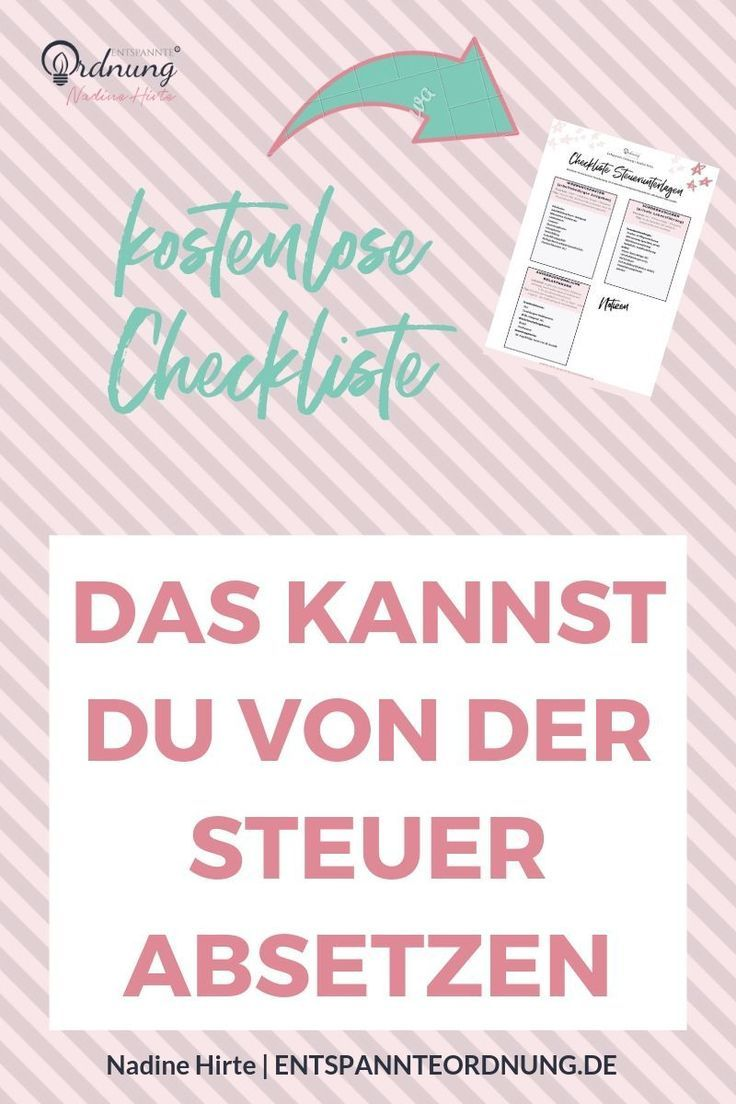 Photo of Tax documents (download checklist free of charge)