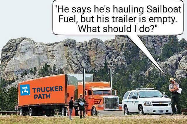 Pin by Trucker Path on Trucker Memes Truck memes