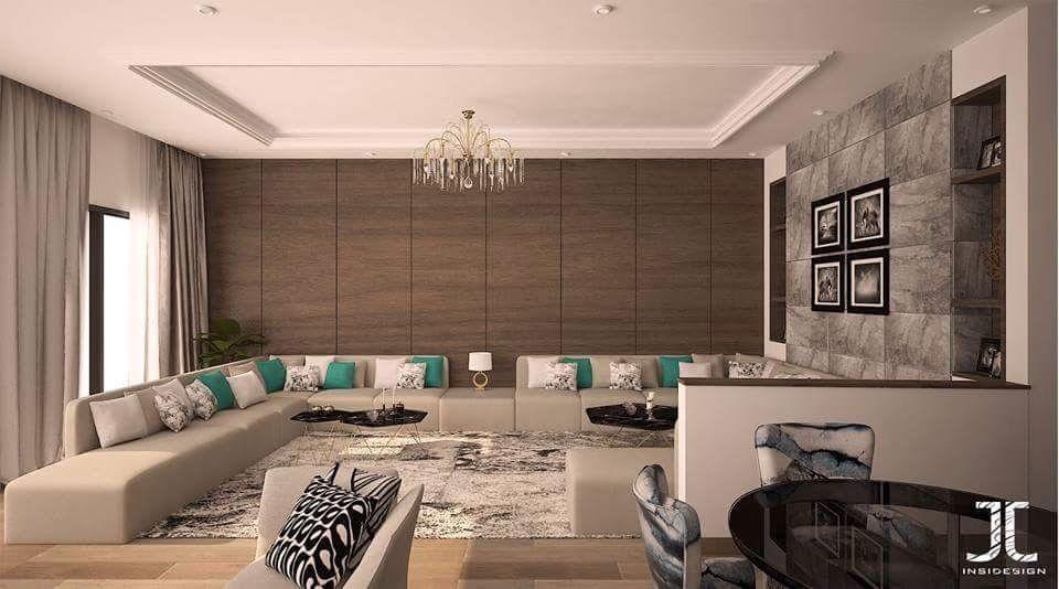 Salon moderne gris – salon marocain moderne – salon marocain ...