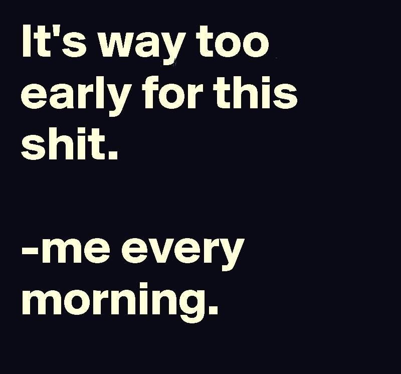 Every Morning Funny Quotes Work Humor Quotes