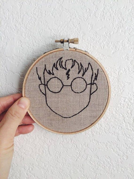 Harry Potter embroidery #embroidery