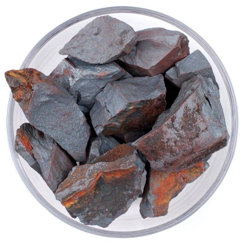 5 Pieces Hematite Tumbled Crystal Healing Reiki Wiccan Quartz