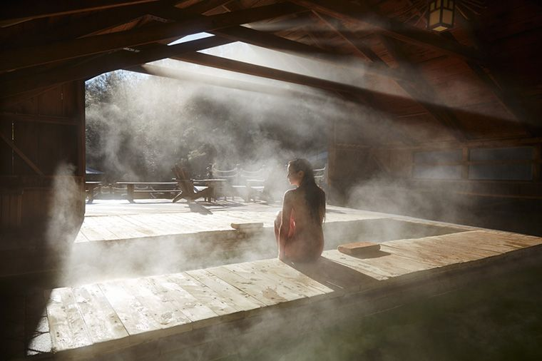 Hydrotherapy Sauna Bath Or Steam Room How To Well Good Japanese Spa Steam Room Sauna