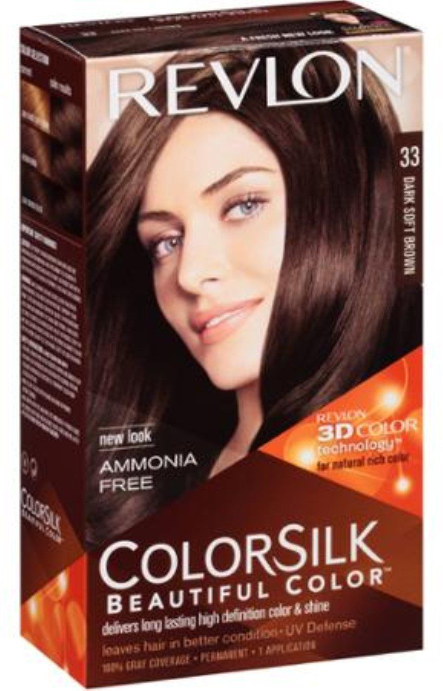 Revlon Colorsilk Permanent Color Dark Soft Brown 33 1 Count Pack