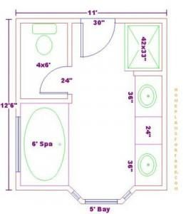 Master Bathroom Renovation Why To Create A Concept First Paperblog Bathroom Layout Plans Bathroom Plans Master Bathroom Plans