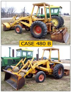 case 480b backhoe loader operators pdf manual the case corporation rh pinterest com