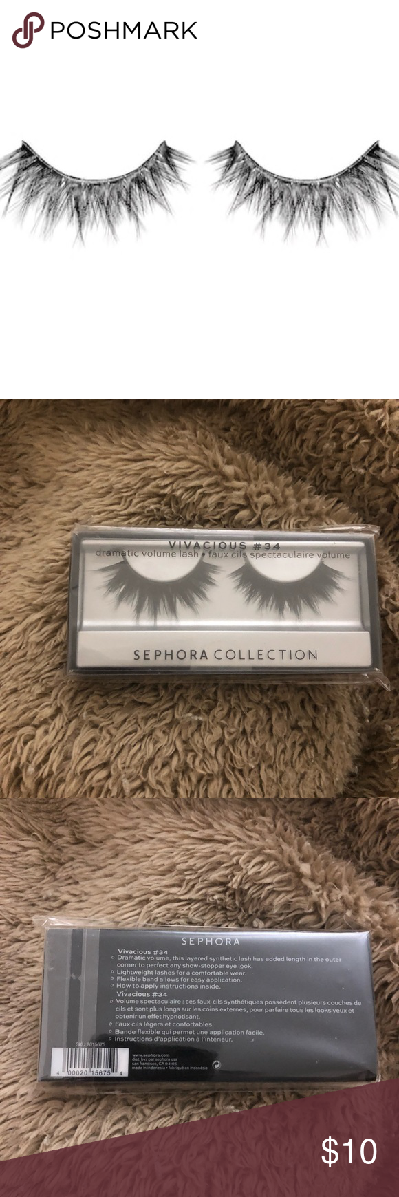 d96e1b6daf4 Sephora False Eyelashes Brand new, never used & in the box. Bundle for a  discount. No trades. Price is firm. Sephora Makeup False Eyelashes