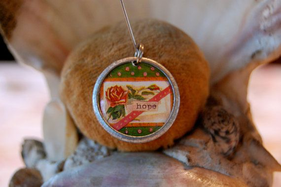 Hope charm to aid meditation by diddywadiddy on Etsy, $14.00