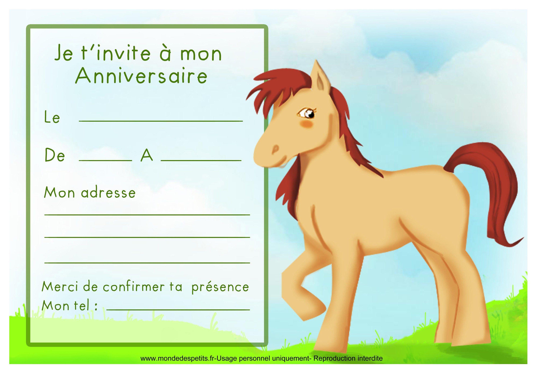 Extrêmement carte invitation anniversaire imprimer : Cartes invitation  ET71