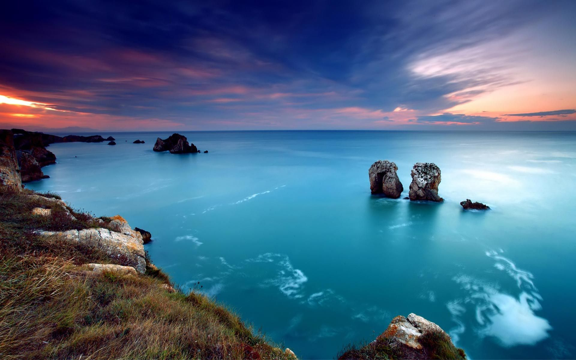 North Sea Coast In Germany Beautiful Nature Wallpaper Landscape
