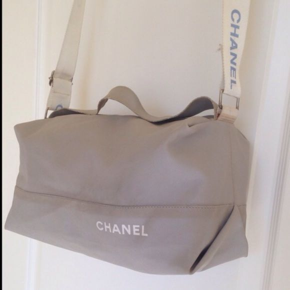 52bdc0e467ca AUTHENTIC CHANEL sports line nylon cross body This is old sport line CHANEL  bag. Very