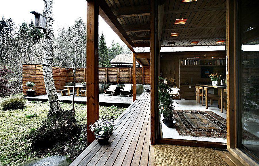 Bakgård: Villa Schreiner