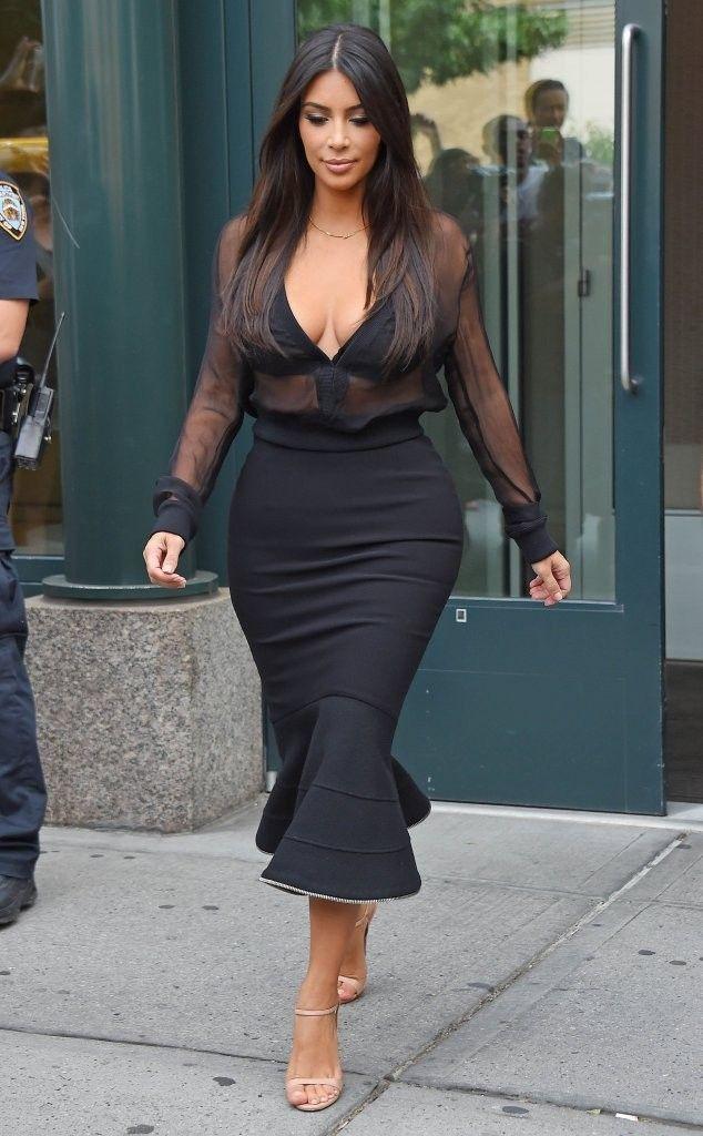 Resultado de imagen para kim kardashian midi skirt