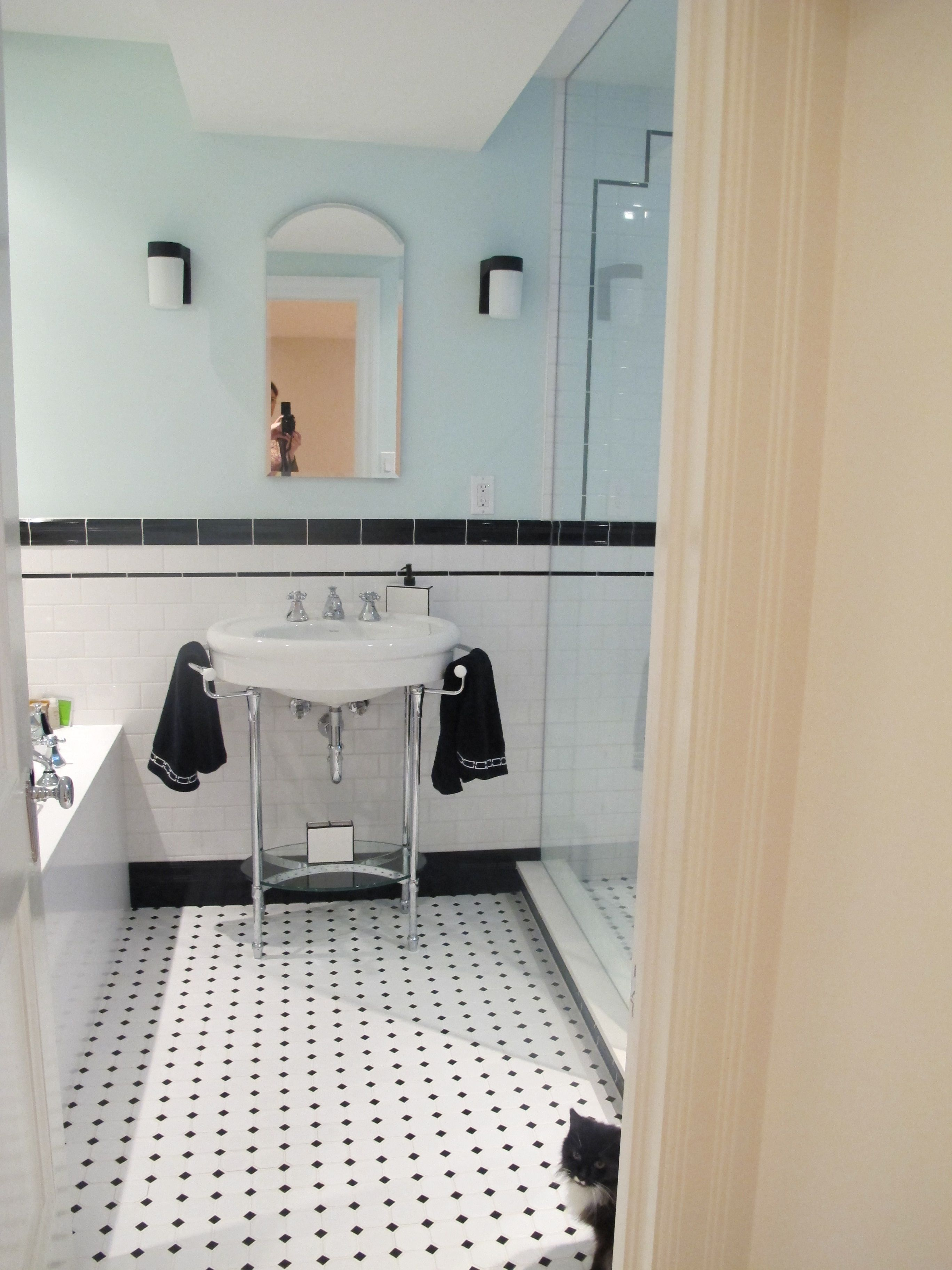 Farmhouse Shower Bath Combo