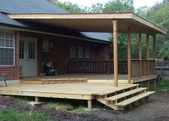 Superb Covered Deck And Patio Designs   Details For: WOOD DECKS And PATIO COVERS ( San