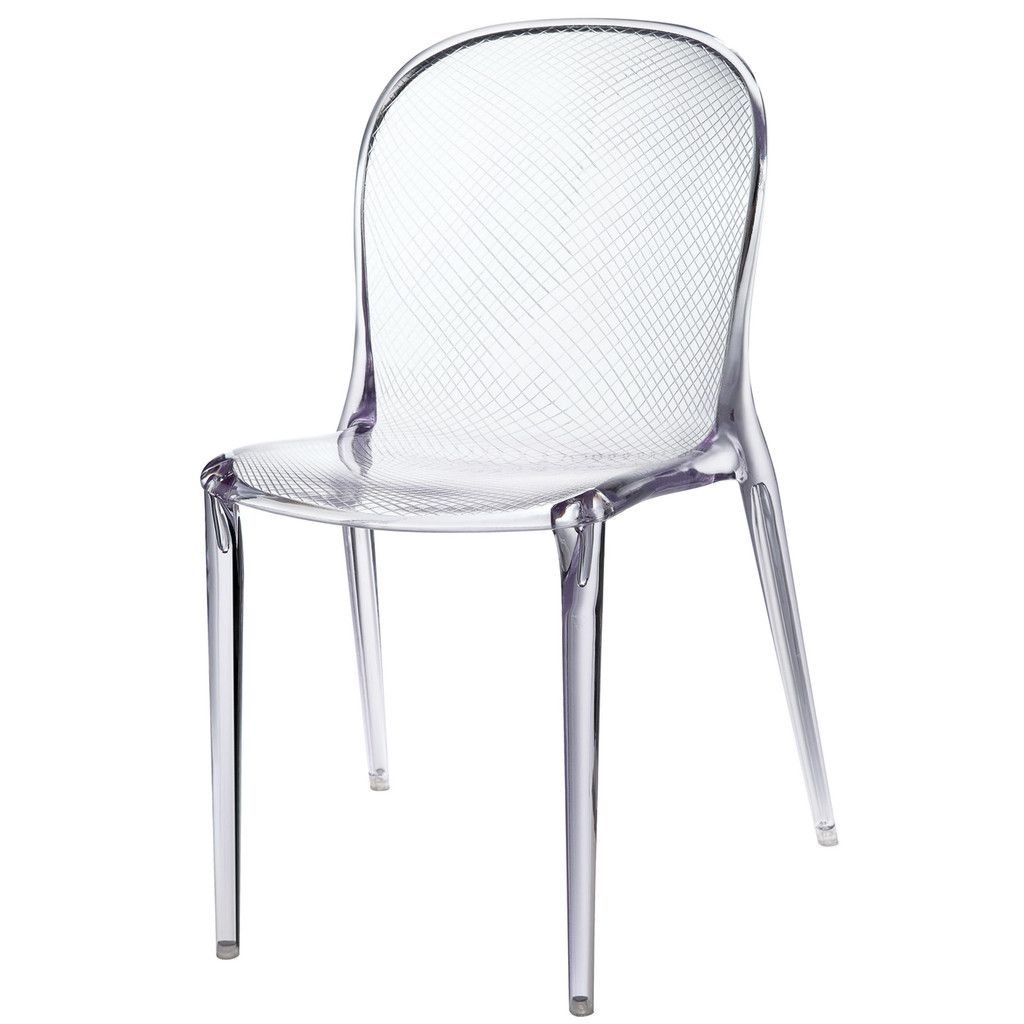 Acrylic Chair 130 Scape Acrylic Translucent Chair Outdoor