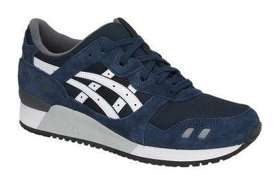 blauwe asics sneakers