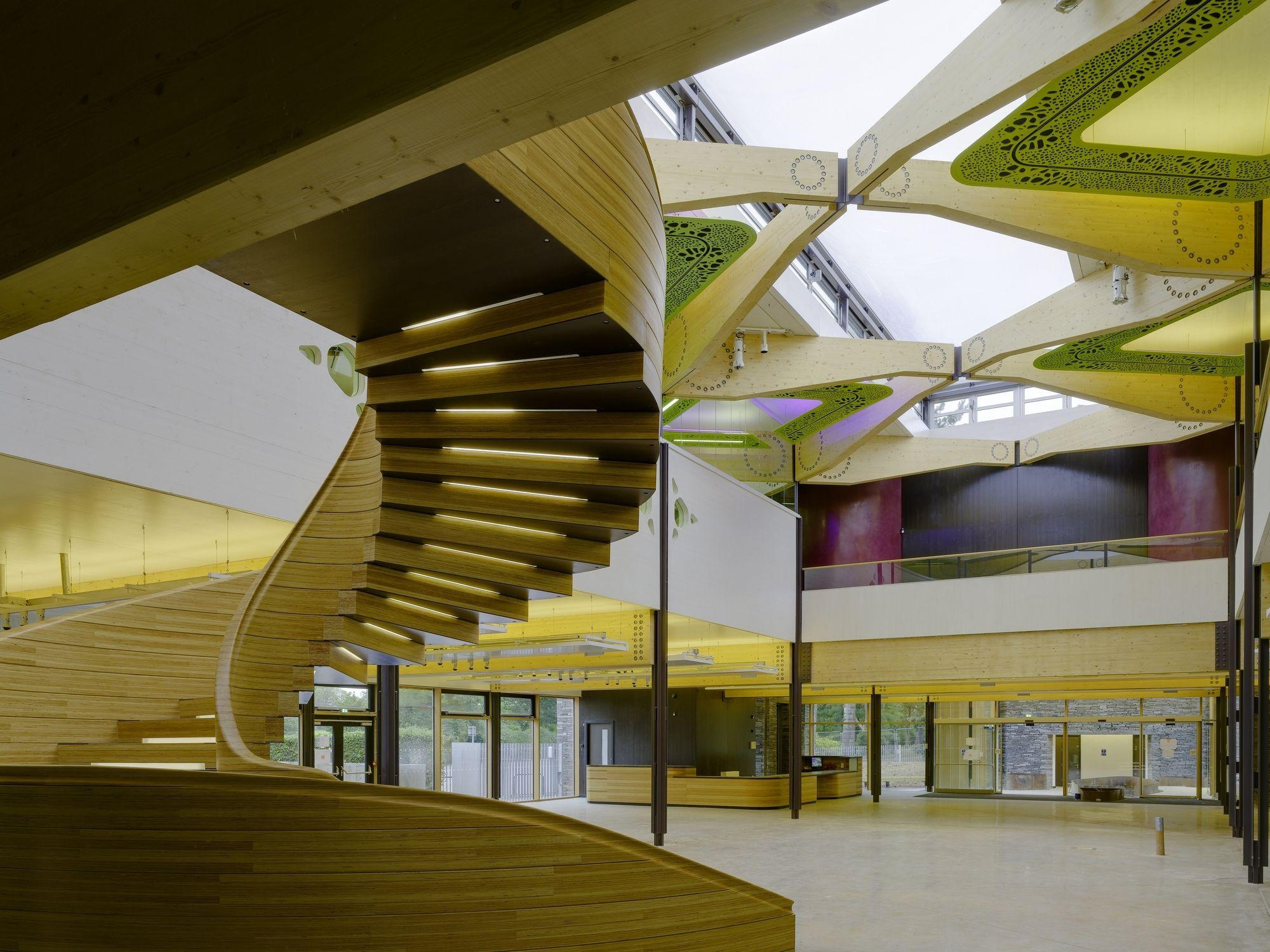 Edward Cullinan Architects' John Hope Gateway visitor ...