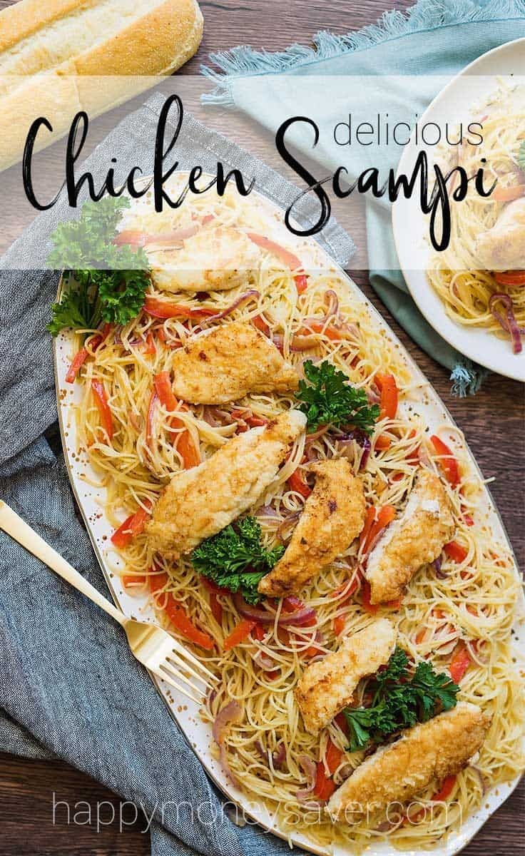 Chicken Scampi Recipe Just Like Olive Garden But Better