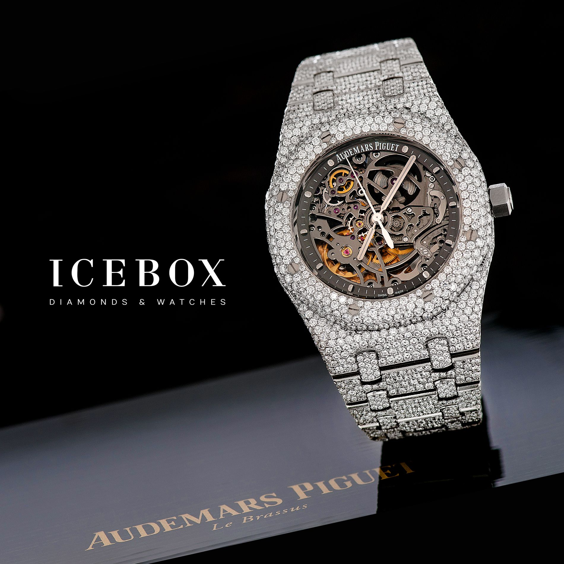 Pin by Icebox Diamonds & Watches on Audemars Piguet in ...