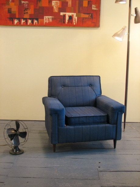 mid century modern vintage upholstered chair 1950s 60s discounted shipping to some cities - Mid Century Modern Furniture Of The 1950s