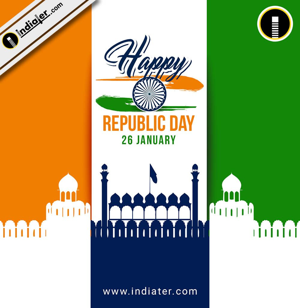 Background For 26 January Republic Day With Flag Tricolor Indian Monuments Red Fort Republic Day India Republic Day Parade Happy Independence Day India 26 january 2021 india gate ticket