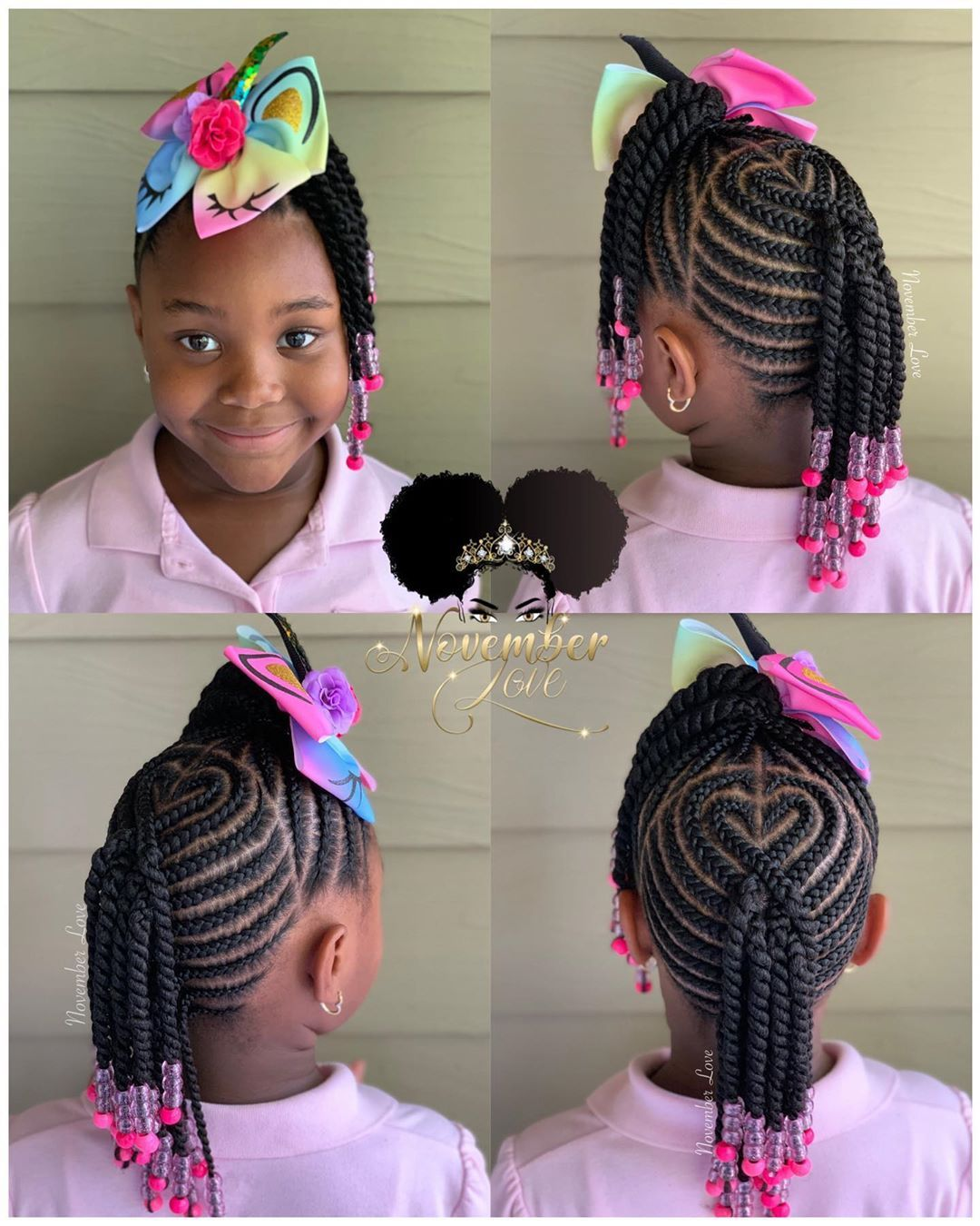 Children S Braids And Beads Booking Link In Bio Childrenhairstyles Braidart Childrensbraids Braid Braids For Kids Kids Braided Hairstyles Kids Hairstyles