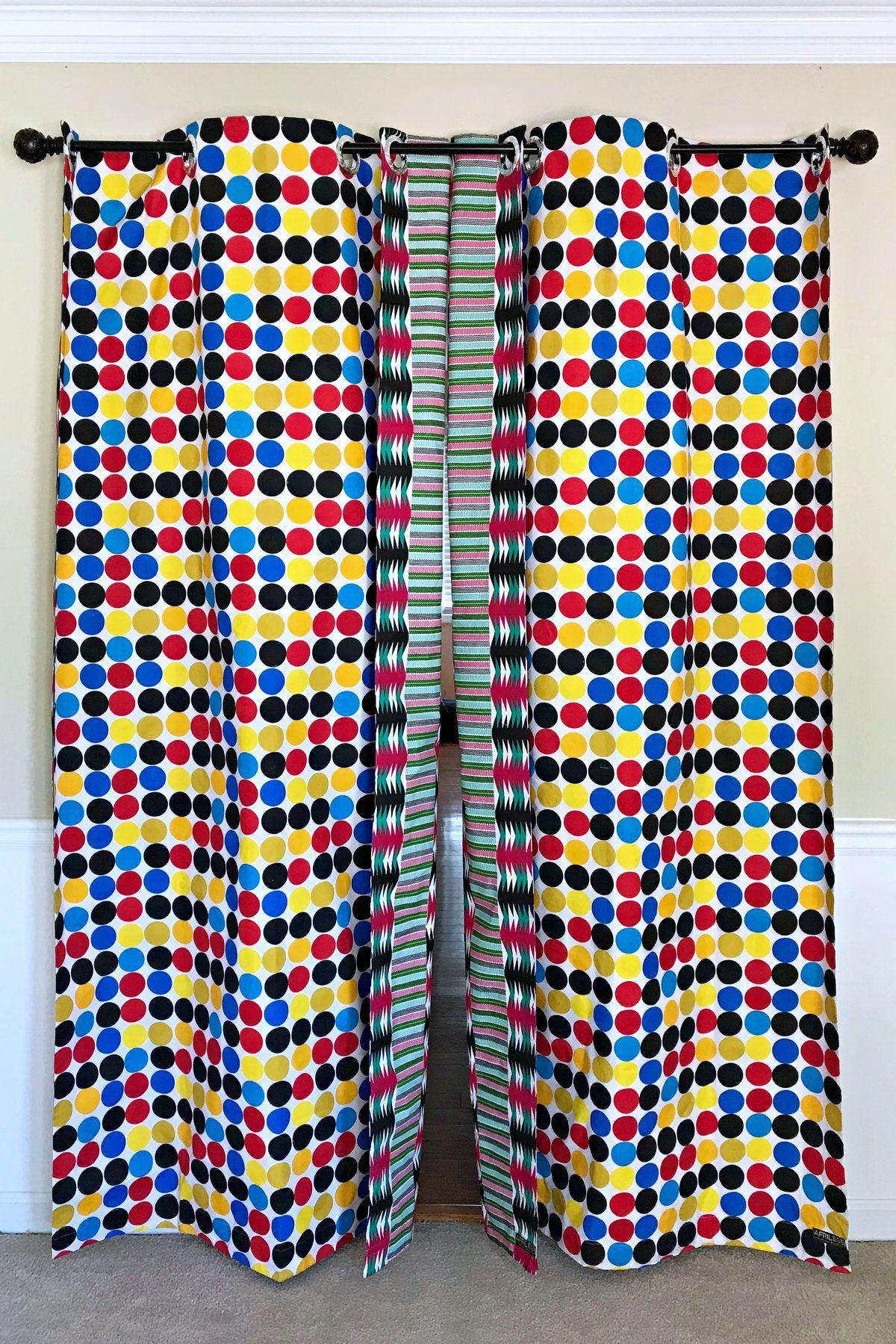 Penina Double Sided Reversible Grommet Top African Print