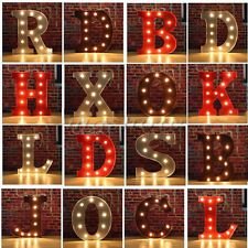 metal led marquee letter lights vintage circus style alphabet light up sign 12