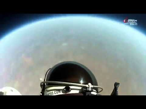 Watch This Felix S Chest Cam Captures Nauseating 833mph Fall To