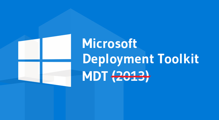 The Microsoft Deployment Toolkit (MDT) has been released and