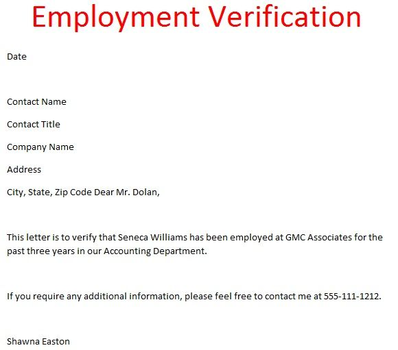 professional resignation letter to employee - Google-Suche - employment verification letter