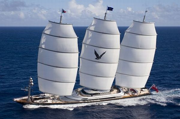The Maltese Falcon The Only Super Yacht In The World Owned By A Woman Maltese Falcon Yacht Sailing Yacht Sailing Ships