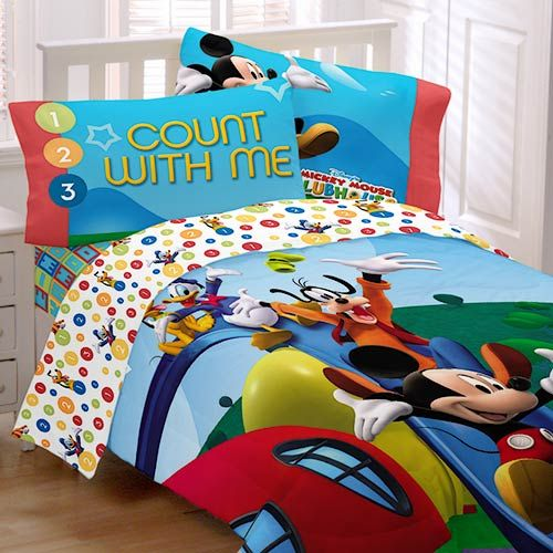 Beautiful Mickey Mouse Clubhouse Bedroom: Disney Mickey Mouse Clubhouse  Sheet Set, Twin ~ 3meia5