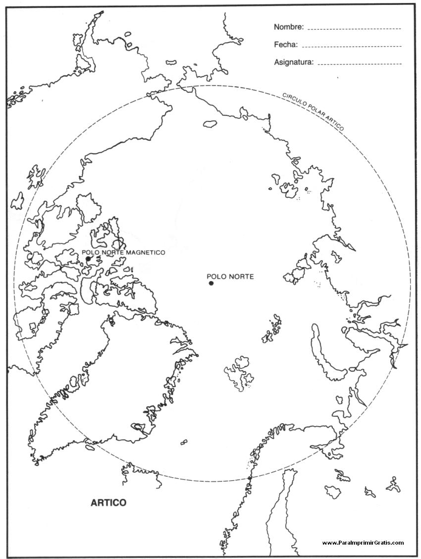 mapa del  u00c1rtico