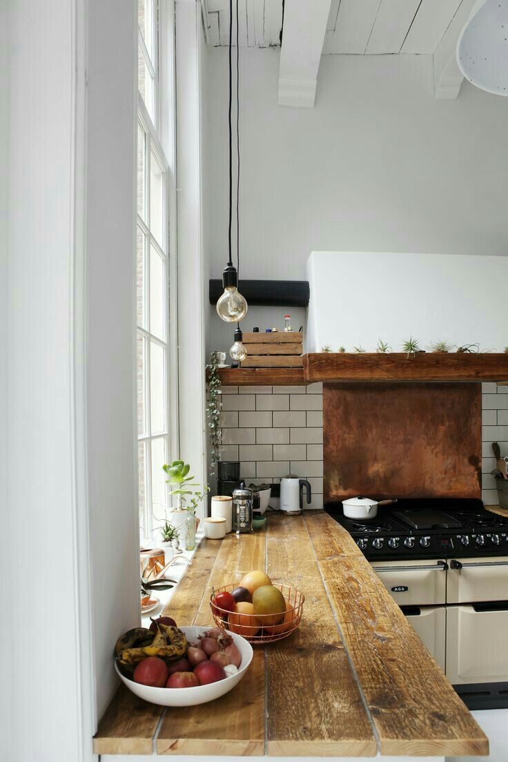Butcher block counters Kitchen Design Inspiration Pinterest