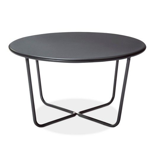 Outdoor Side Table Gray Modern By Dwell Magazine Target