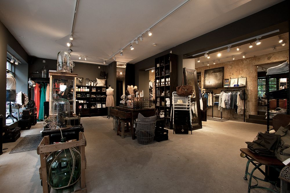 images retail shops with industrial chic Google Search