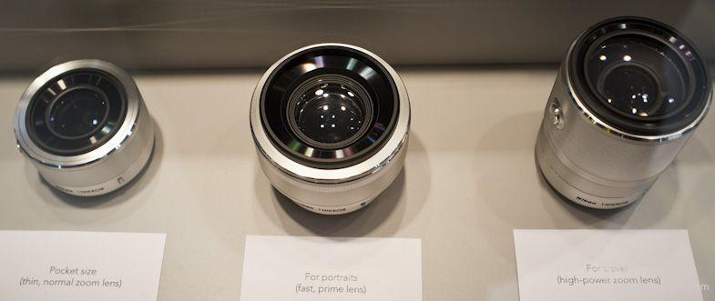 New Nikon 1 Lenses 32mm F 1 2 6 7 13mm F 3 5 5 6 And 10 100mm F 4 5 6 Lenses Nikon Mirrorless Camera