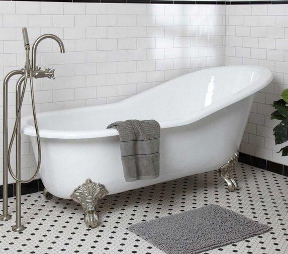 Eviva Cast Iron Clawfoot Tub     Available in Decors R Us 144 E Route 4 Paramus NJ 07652