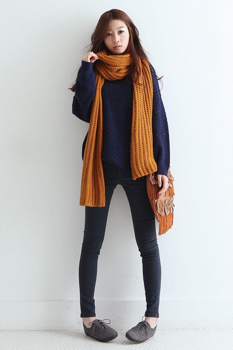 How to Stay Stylish All Winter | Korean fashion, Korean ...