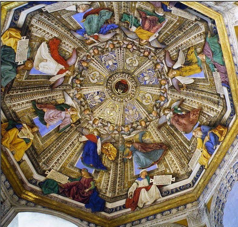 Melozzo da Forli, The sacristy of San Marco in the Basilica della Santa Casa in Loreto, 1477-1480