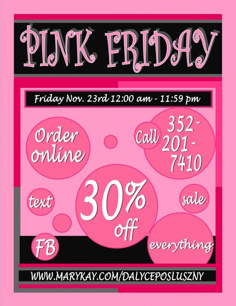 Mary kay sale flyer ideas - Mary Kay Sale Flyer Ideas Mary Kay Pink Friday Sale