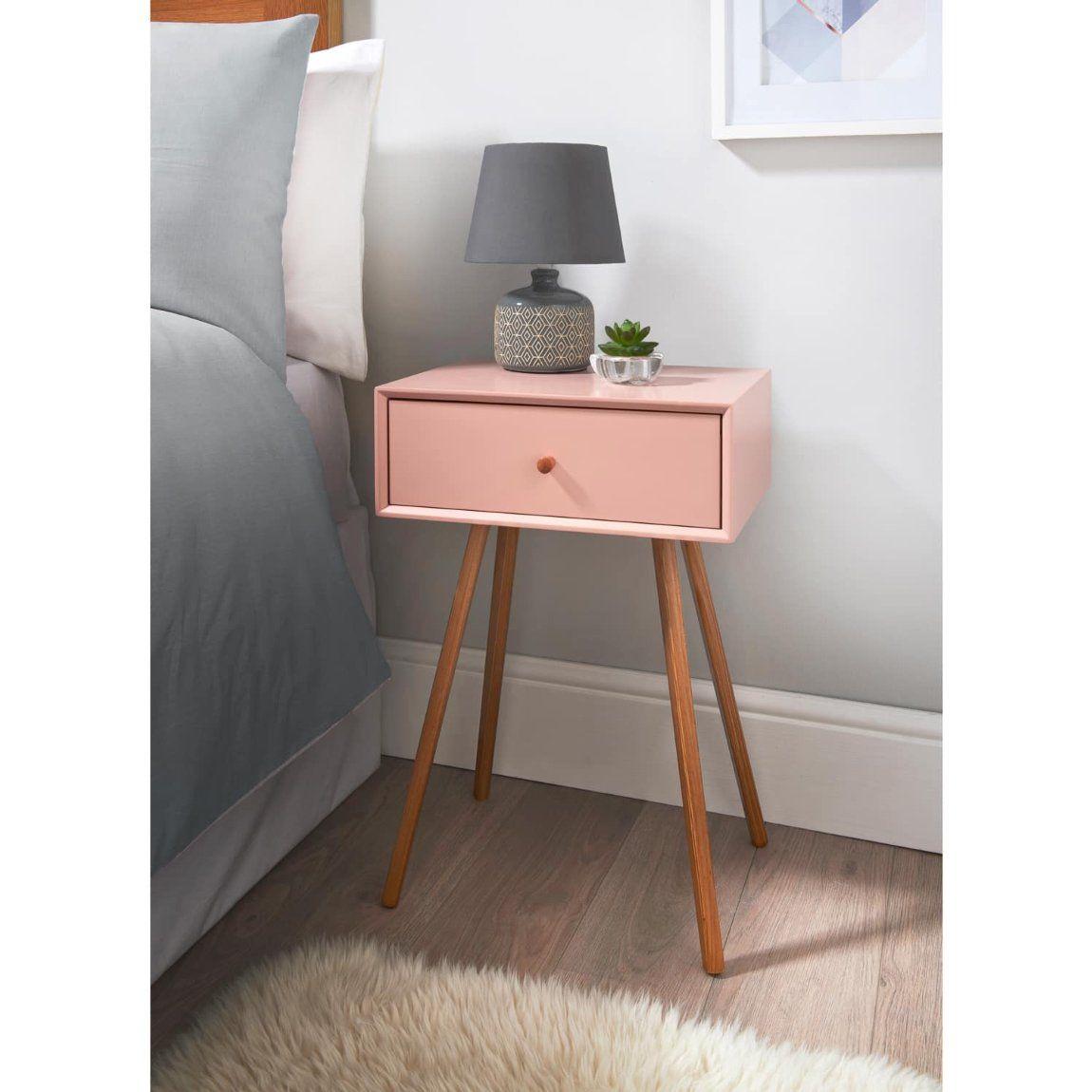 20 B M Furniture Cheap Bedside Tables Blush Bedroom