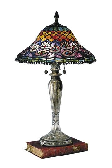 Dale Tiffany Cassidy Mosaic Table Lamp - I have this lamp in my bedroom and it's my favorite!!!