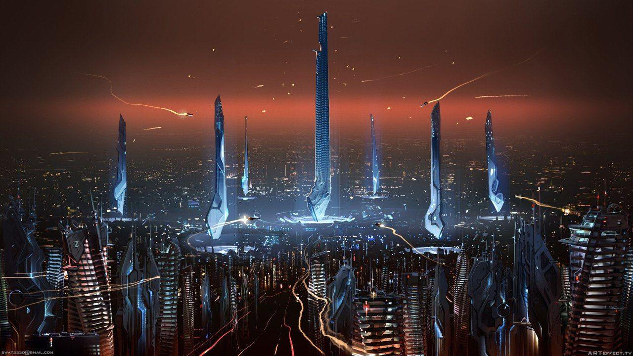 космические города фото оказалось