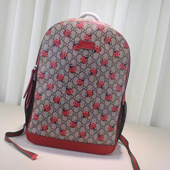 67ed5a80df54 Gucci Ladybugs Print Backpack 443178 | Gucci Backpack | Backpacks ...