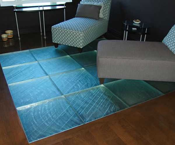 Glass Floor And Ceiling Designs Opening And Enhancing Modern Home - Glass floor panels for sale